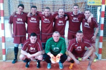 Sálový futbal UH - apríl 2015