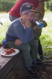 Výstup na Inovec - august 2014
