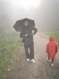 Výstup na Inovec - september 2013